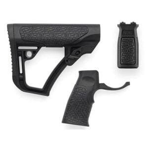 Daniel Defense Buttstock Pistol Grp M LOK Vert Frontgrip Combo