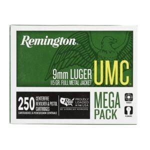 Remington UMC 9mm Luger 115 Grain