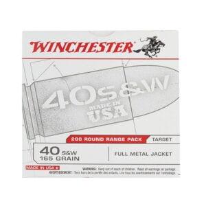 Winchester .40 SW 165 Grain