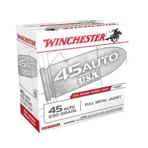 Winchester .45 ACP FMJ 230 Grain 200 round
