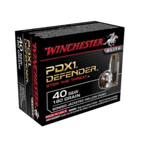 Winchester Bonded PDX1 .40 SW 180 Grain