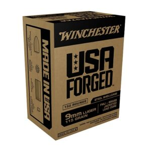 Winchester USA Forged 9mm Luger 115 Grain