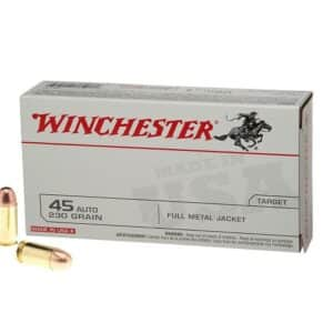 Winchester USA Full Metal Jacket .45 Automatic 230 Grain